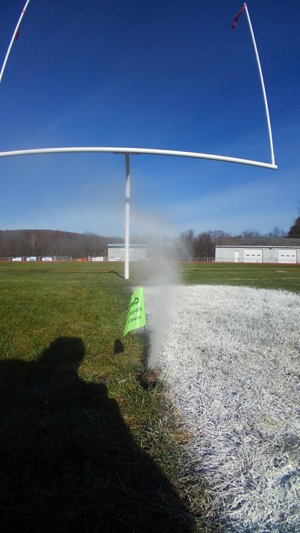 Washington Township, NJ - Winterize sprinklers for a high school football field