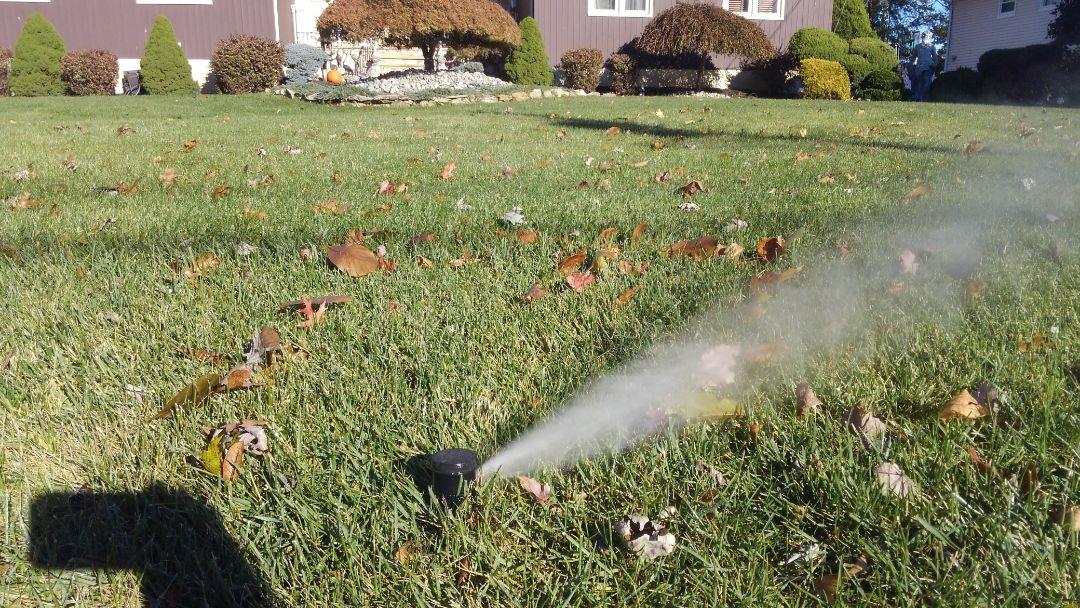 Fairfield, NJ - Winterize the irrigation system