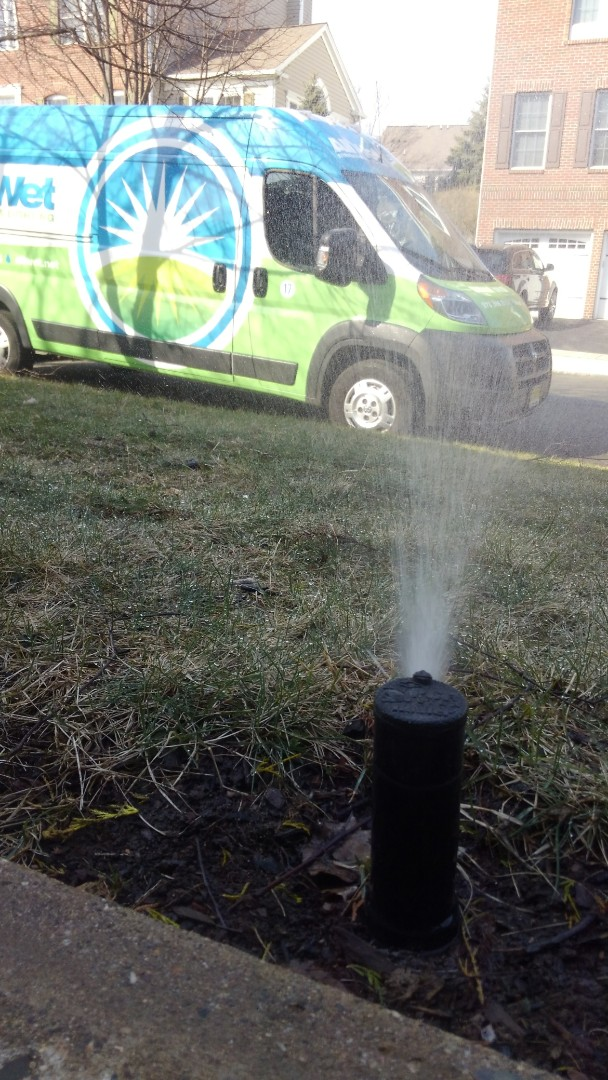 Totowa, NJ - Check through irrigation system and give estimate for upgrades on better coverage ideas
