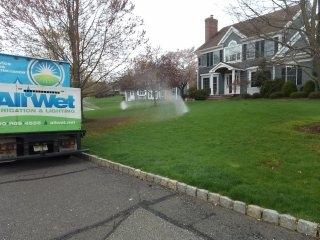 Gladstone, NJ - Sprinkler system turn on