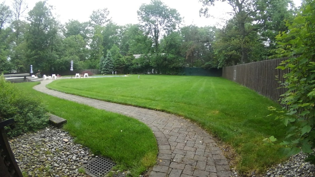 Hanover, NJ - Giving estimate on a new irrigation system add-on