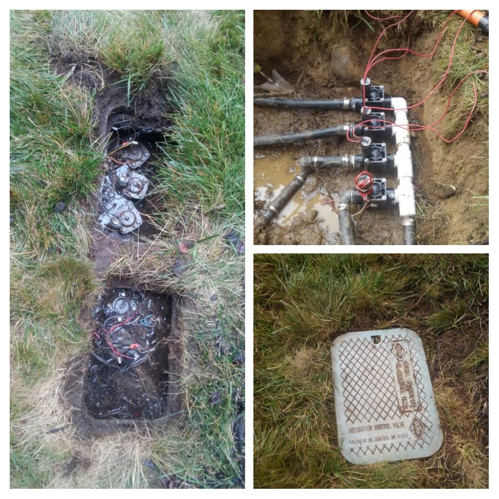 Mountain Lakes, NJ - Replace old broken valves to new hunters