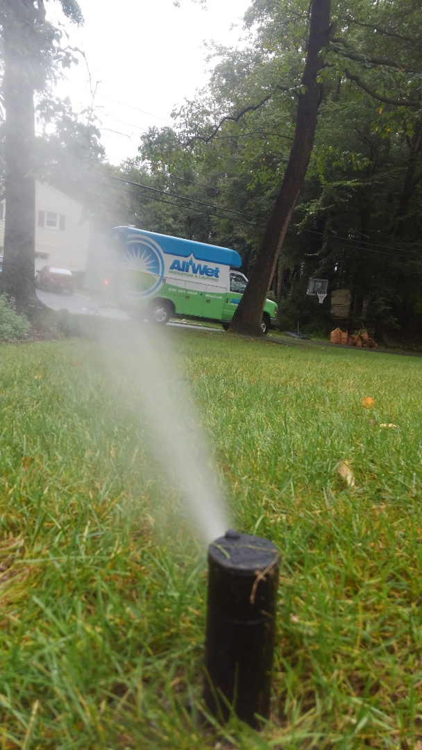 Wyckoff, NJ - Winterization of the irrigation system