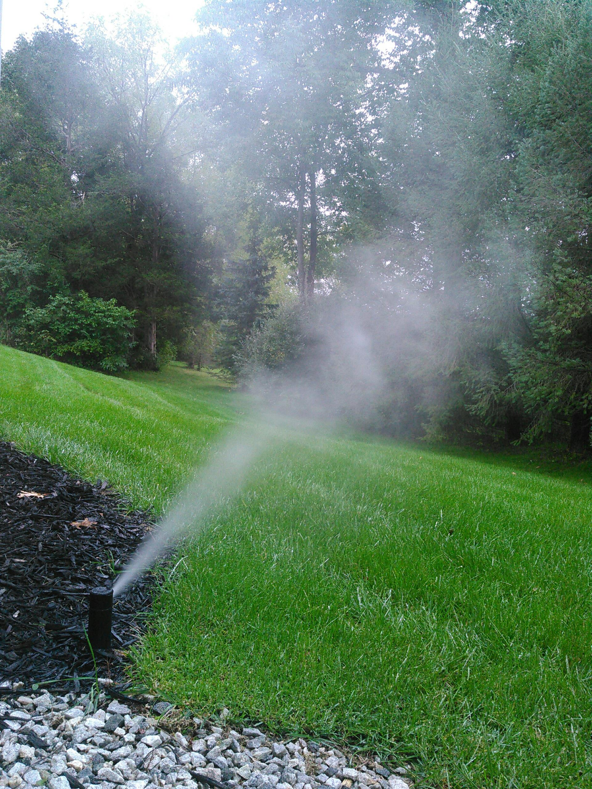 Hamburg, NJ - Winterization of sprinkler irrigation system