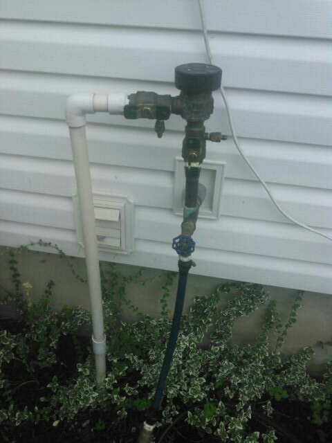 Fairfield, NJ - Winterizing sprinkler systems and doin repairs