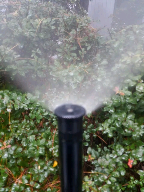 Warren, NJ - Blow air through sprinkler heads to Winterize properly