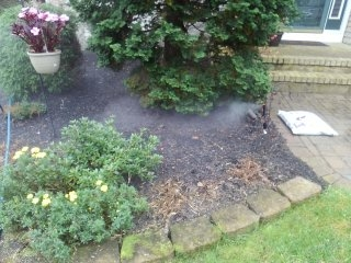 Roxbury Township, NJ - Blow out sprinkler head