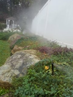 Roxbury Township, NJ - Fall sprinkler blow out