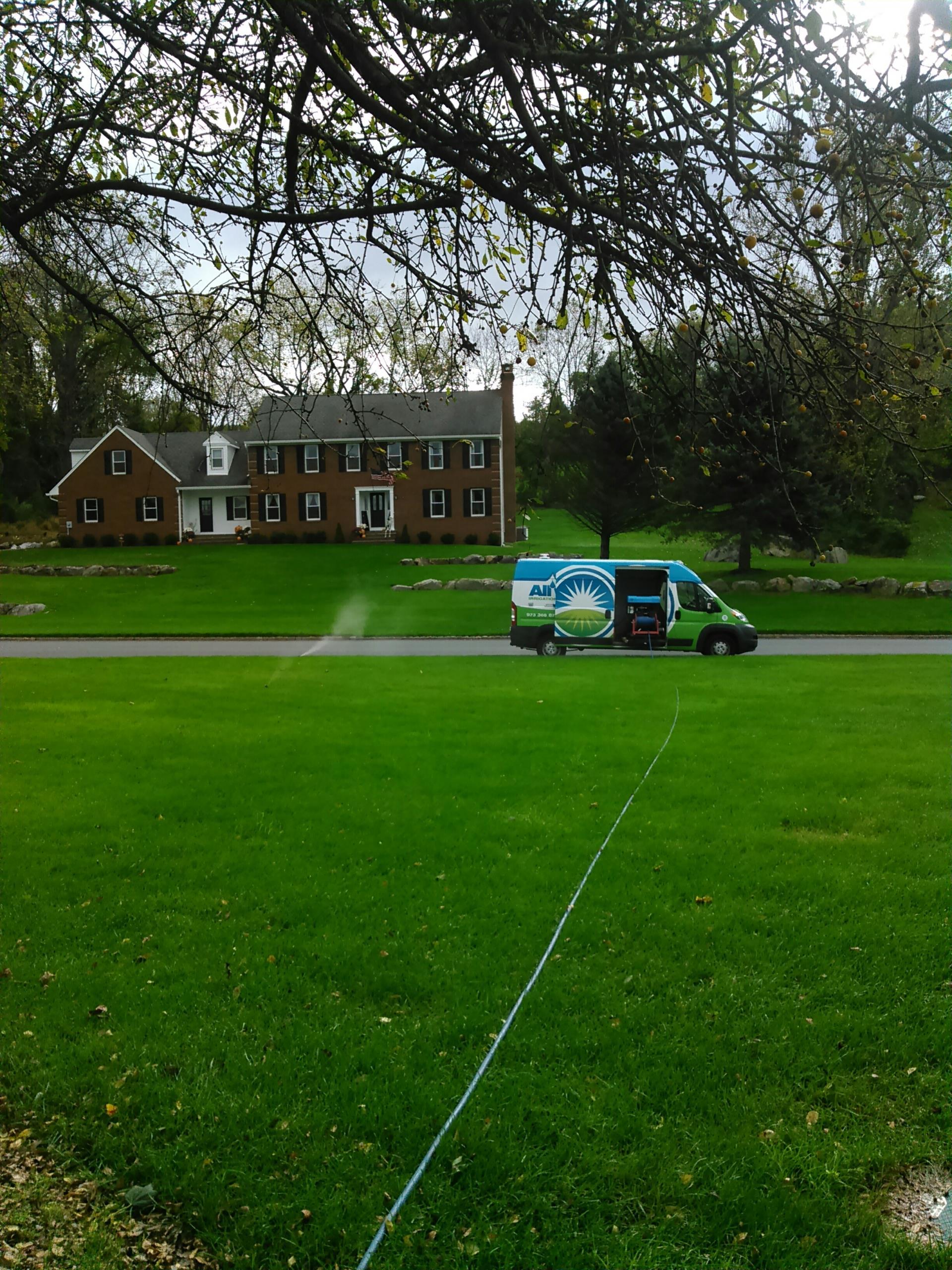 Jefferson, NJ - Winterization for sprinkler irrigation system