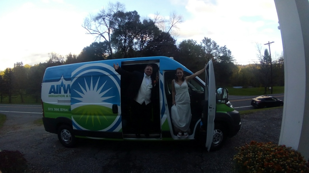 Lafayette Township, NJ - Got married All Wet style!! Thank you to my co-workers, bosses and all my amazing customers.