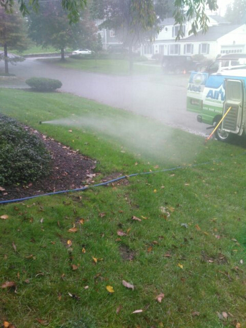 Mountain Lakes, NJ - Winterizing sprinkler systems and doin repairs