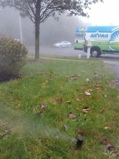 Mount Olive Township, NJ - 9 zone sprinkler system being winterized in Flanders!
