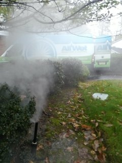 Mount Olive Township, NJ - 10 zone sprinkler system being blown out; winterized!