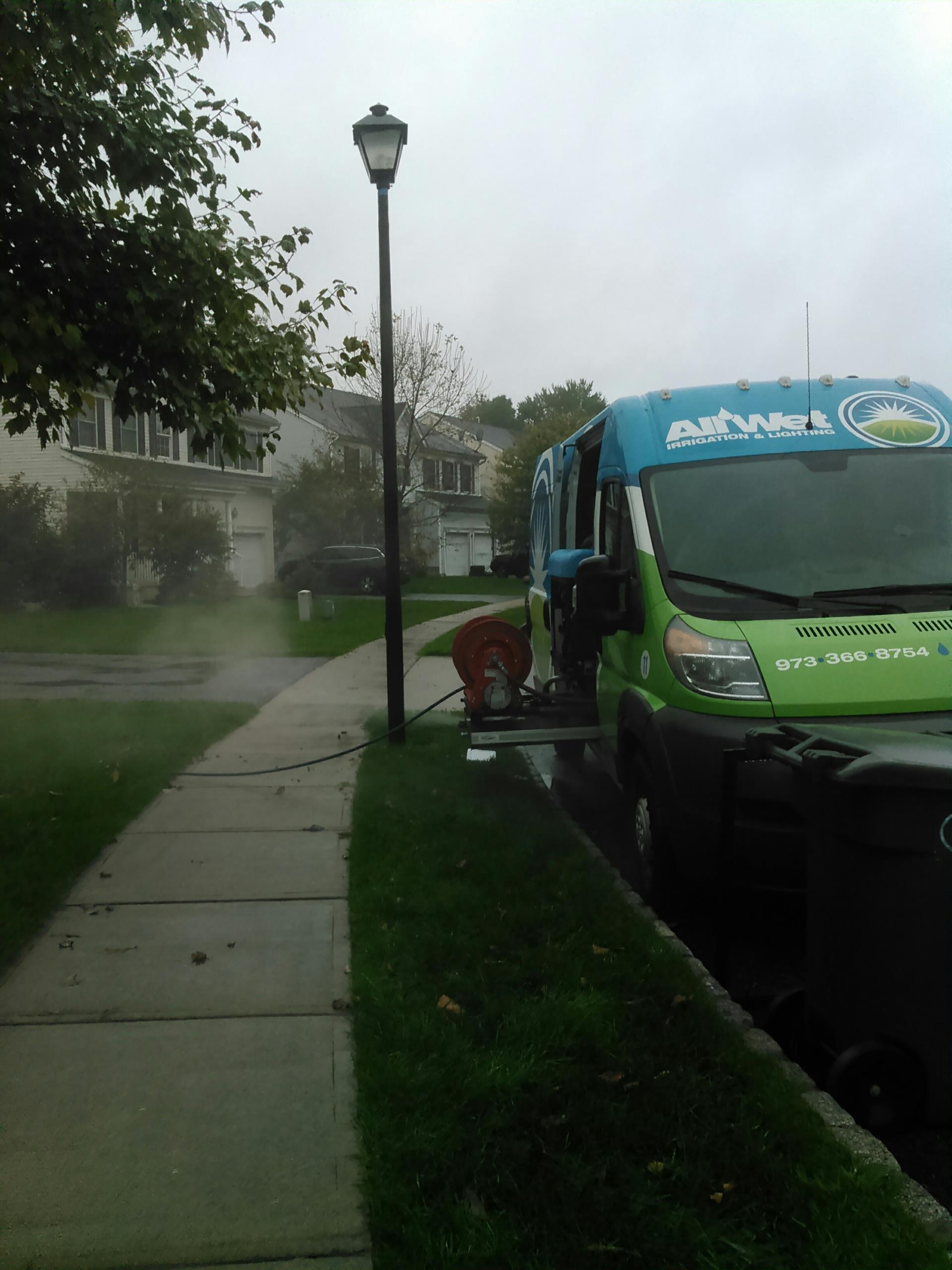 Washington Township, NJ - Lawn sprinkler irrigation system winterization