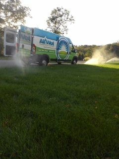 Mount Olive Township, NJ - 23 station sprinkler system being blown out; kinnelon winterizes!!!