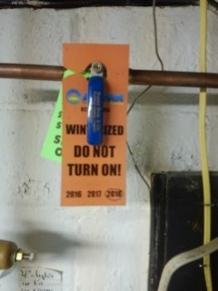 Springfield Township, NJ - Winterize sprinkler system