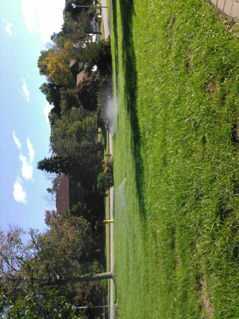 Morris Plains, NJ - Winterized irrigation system,water and clock are off