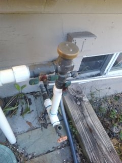 Caldwell, NJ - Sprinkler system blow out