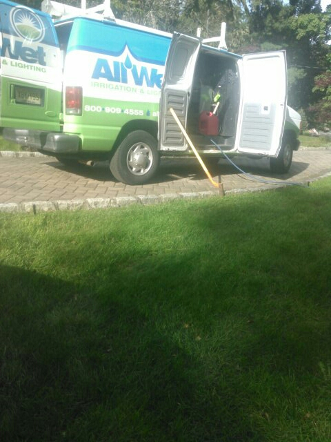 Roseland, NJ - Winterizing sprinkler systems and doin repairs