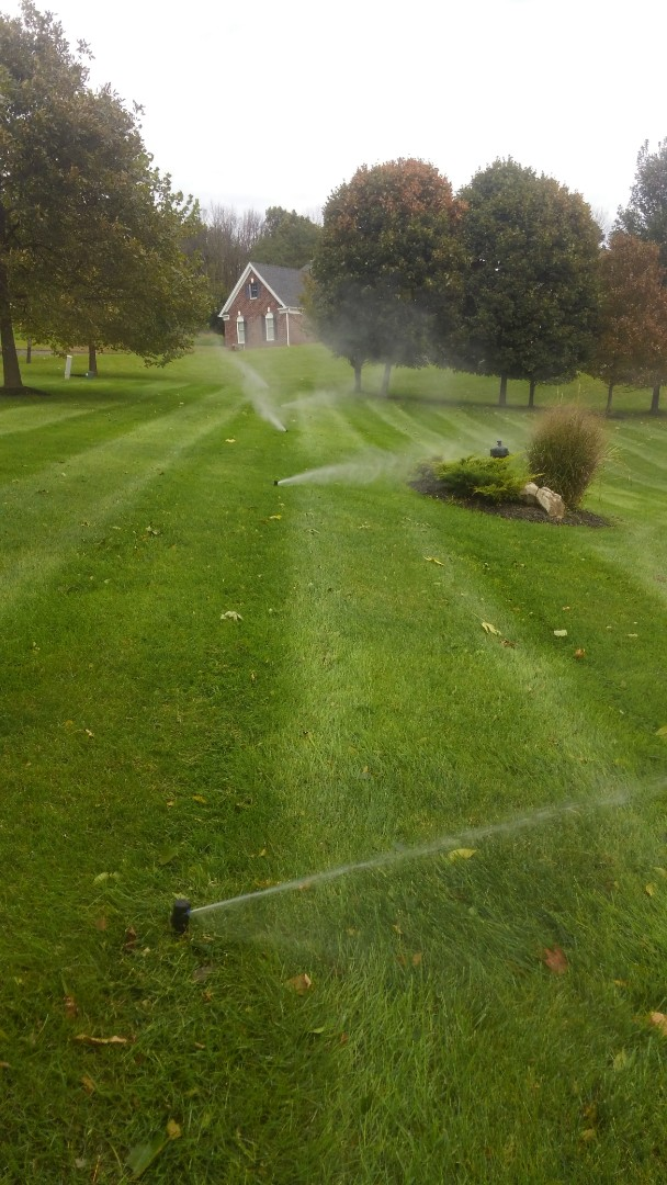 Chester, NJ - Winterize irrigation system