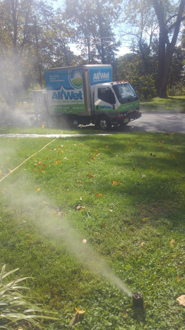Maplewood, NJ - Winterize irrigation system