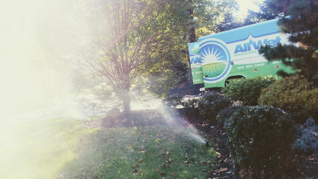 Mountain Lakes, NJ - Winterization of the irrigation system