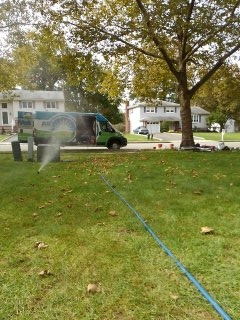 Parsippany-Troy Hills, NJ - 5 zone sprinkler system being winterized in Whippany!!!
