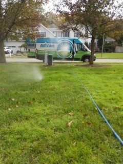 Parsippany-Troy Hills, NJ - 8 station sprinkler system being winterized in Whippany!!!