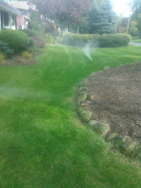 Berkeley Heights, NJ - Winterizing sprinkler systems and doin repairs