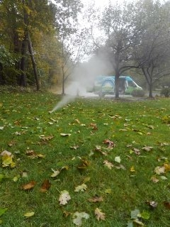 Sparta Township, NJ - 12 station sprinkler system being winterized in Randolph =]
