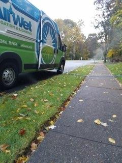 Sparta Township, NJ - 14 zone sprinkler system being winterized in Randolph =]