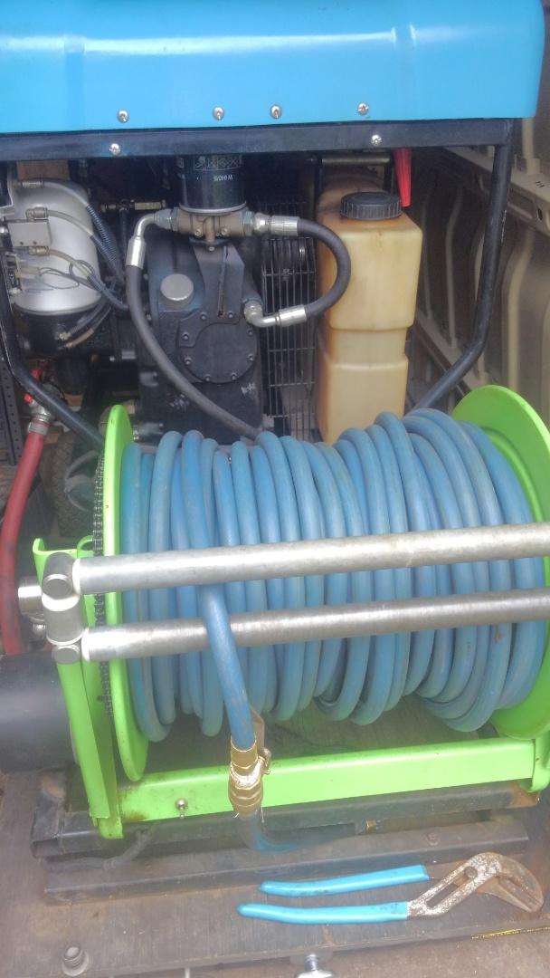West Orange, NJ - Winterize sprinkler system with air compressor