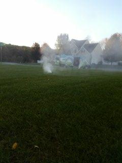Hackettstown, NJ - 9 zone sprinkler system being winterized in Hackettstown!!!