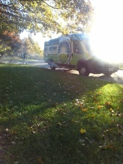 Hackettstown, NJ - 6 zone sprinkler system being blown out; Long Valley Winterizes!!!