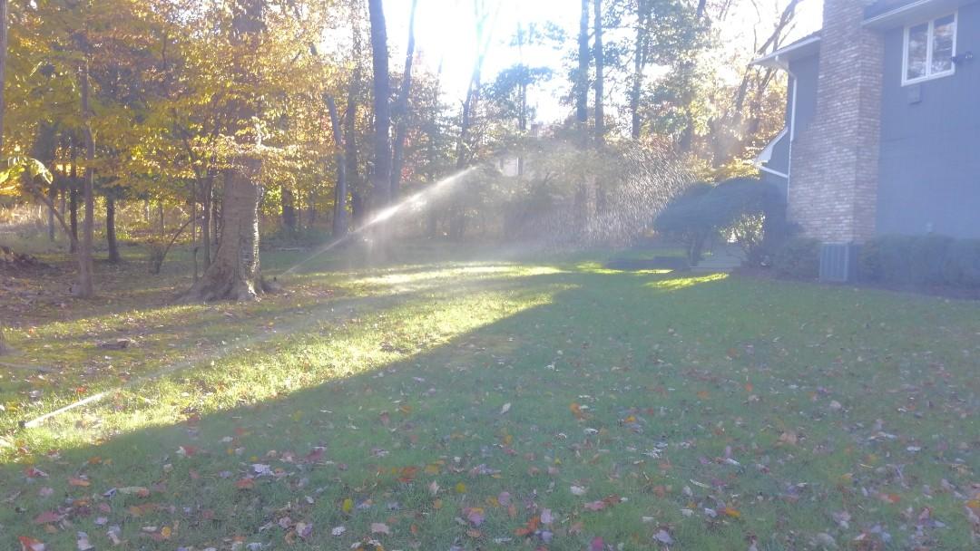 Morris Plains, NJ - Winterize sprinkler system