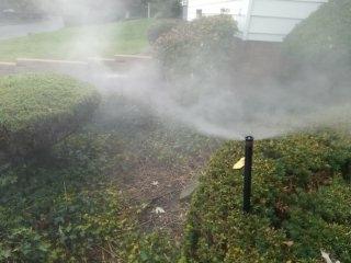 Montclair, NJ - Sprinkler system blow out