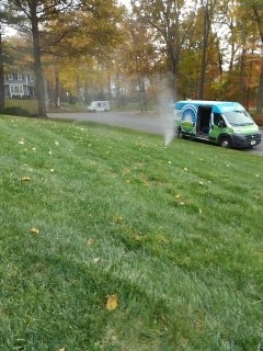 Boonton, NJ - 9 zone sprinkler system winterization in the works; Chatham Winterizes =]