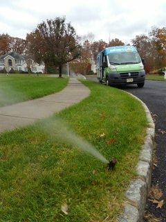 Morristown, NJ - 10 station sprinkler system being winterized in Morristown!!!