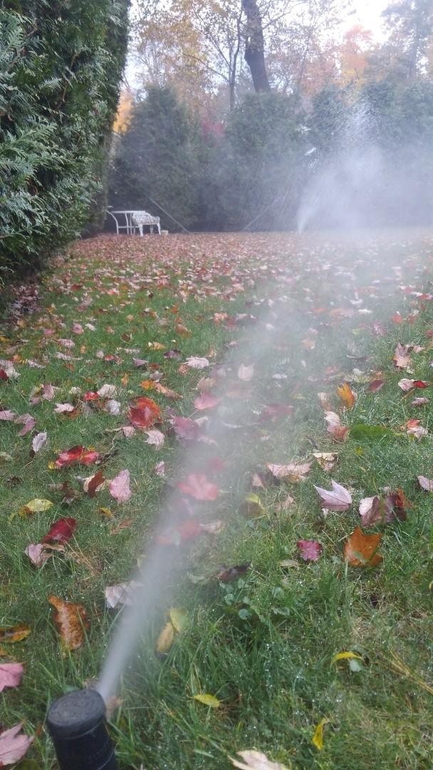 Livingston, NJ - Winterize the irrigation system