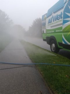 Mendham, NJ - 8 station sprinkler system being winterized in Mendham!!!