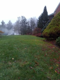 Mendham, NJ - 8 zone sprinkler system being blown out; New Customers Winterize with All Wet!!!