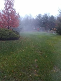 Chester, NJ - 8 zone sprinkler system being blown out in Chester; New Customers Winterize with All Wet =]