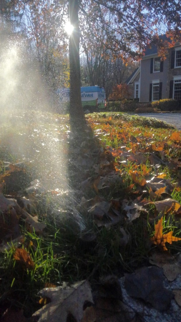 Morristown, NJ - Turn off and winterize sprinkler system