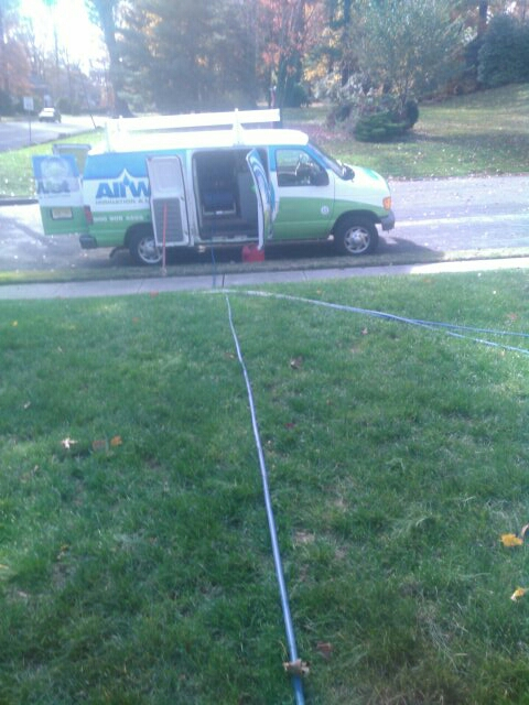 Maplewood, NJ - Winterizing sprinkler systems and doin repairs