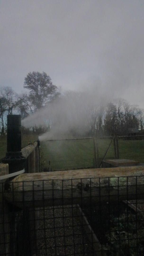 Far Hills, NJ - Winterize sprinklers for veggie garden