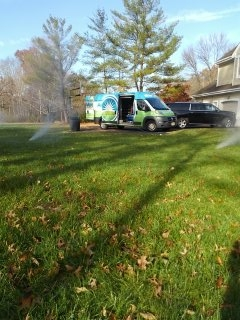 Bernards, NJ - 7 zone sprinkler system almost fully winterized!!!
