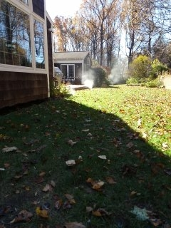 Bernards, NJ - 10 zone sprinkler system being winterized in Basking Ridge!!!