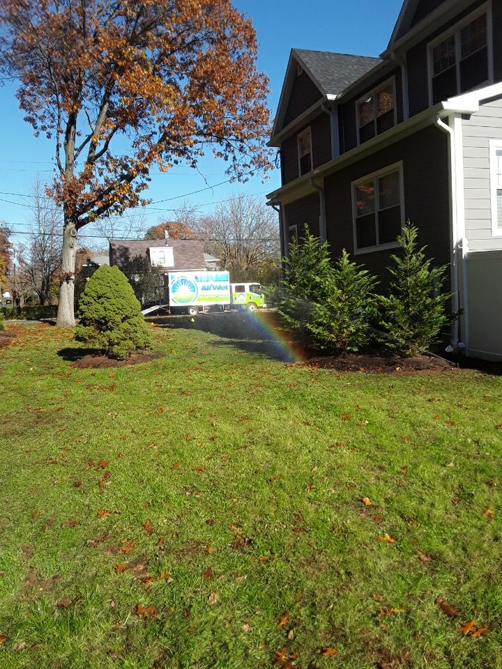 Summit, NJ - Installed 6 zone irrigation system fully loaded with 12 zone Hydrawise controller