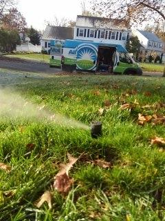Chatham, NJ - 5 zone sprinkler system winterization in Chatham!!!