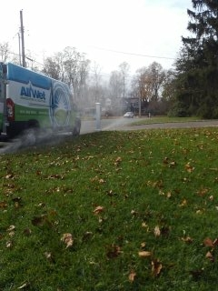 Chatham, NJ - 7 zone sprinkler system being prepared for the winter; Chatham Winterizes!!!